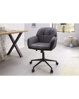FOTEL BIUROWY LOUNGER ANTRACYT