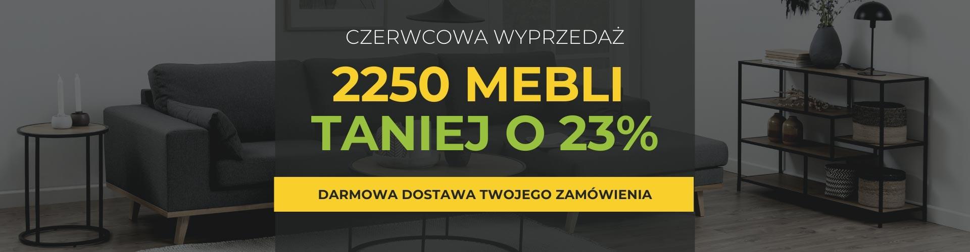 TANIEJ O 23 PROCENT